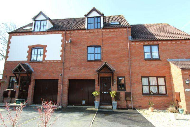 3 Bedrooms Terraced House for sale in SLEWTON CRESCENT, WHIMPLE