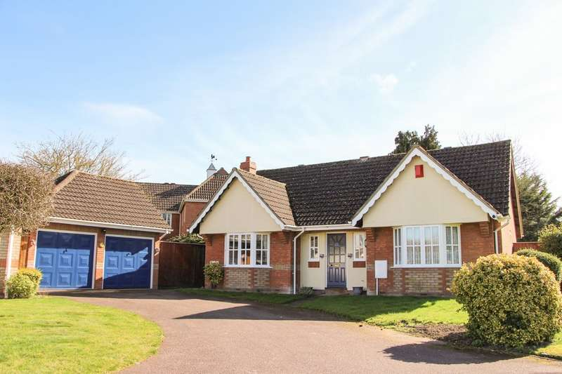 2 Bedrooms Detached Bungalow for sale in Hatley Drive, Burwell
