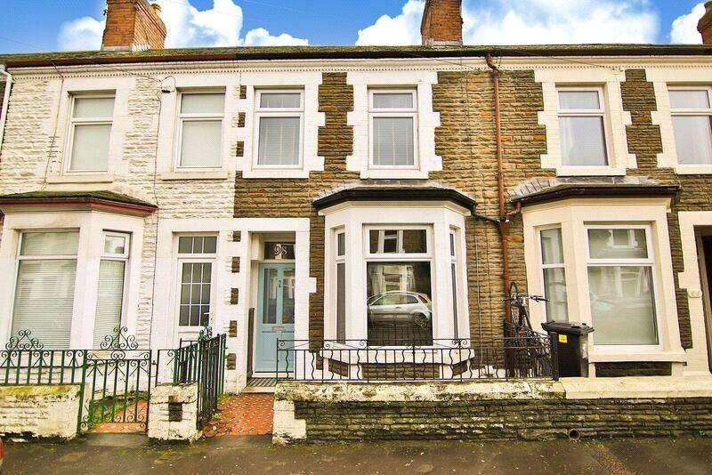 2 Bedrooms Terraced House for sale in Glenroy Street, Roath, Cardiff, CF24