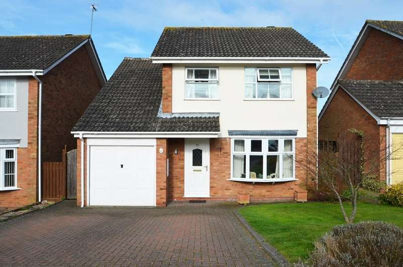 4 Bedrooms Detached House for sale in Sandford Way, Dunchurch, Rugby