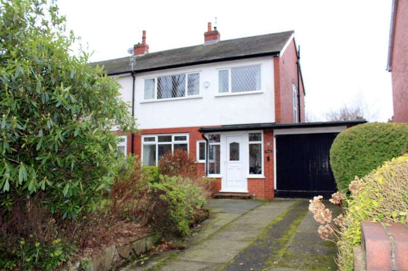 3 Bedrooms Semi Detached House for sale in New Church Road, Smithills