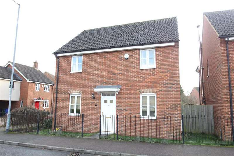 4 Bedrooms Detached House for sale in Falcon Drive, Old Stratford, Milton Keynes