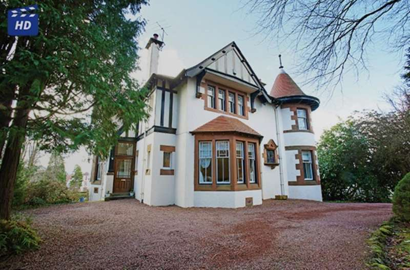 5 Bedrooms Detached Villa House for sale in Langdale Bridge of Weir Road, Kilmacolm, PA13 4NU