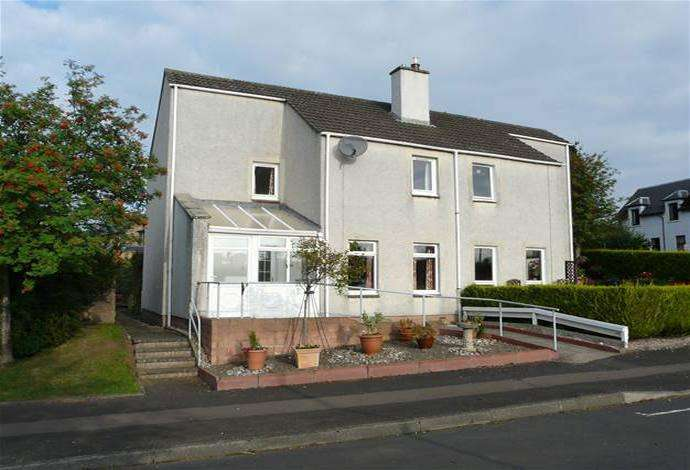 2 Bedrooms Semi Detached House for sale in 7 Rushbank, Newstead, TD6 9DA