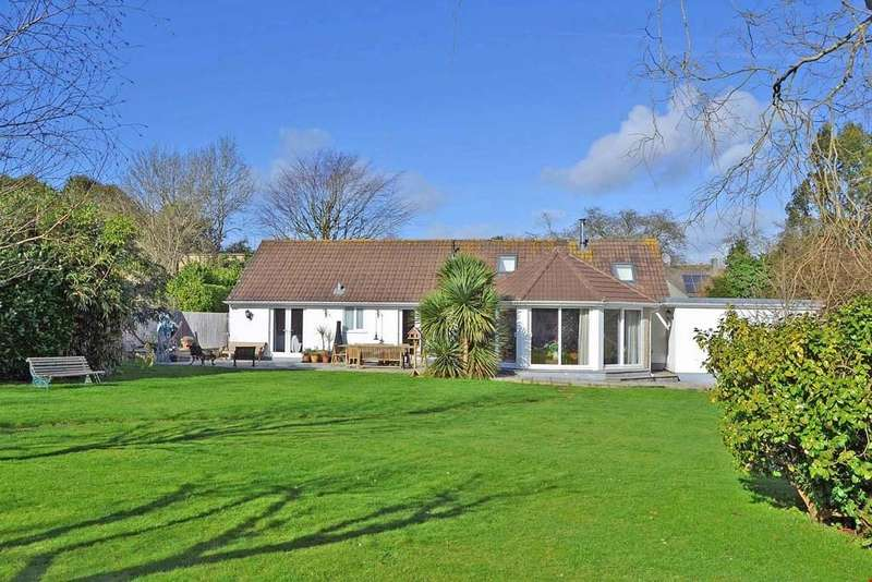 4 Bedrooms Detached Bungalow for sale in Barrack Lane, off Lemon Street, Truro, South Cornwall, TR1