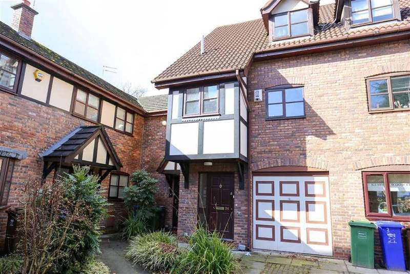 4 Bedrooms Town House for sale in Blackburn Gardens, Didsbury, Manchester