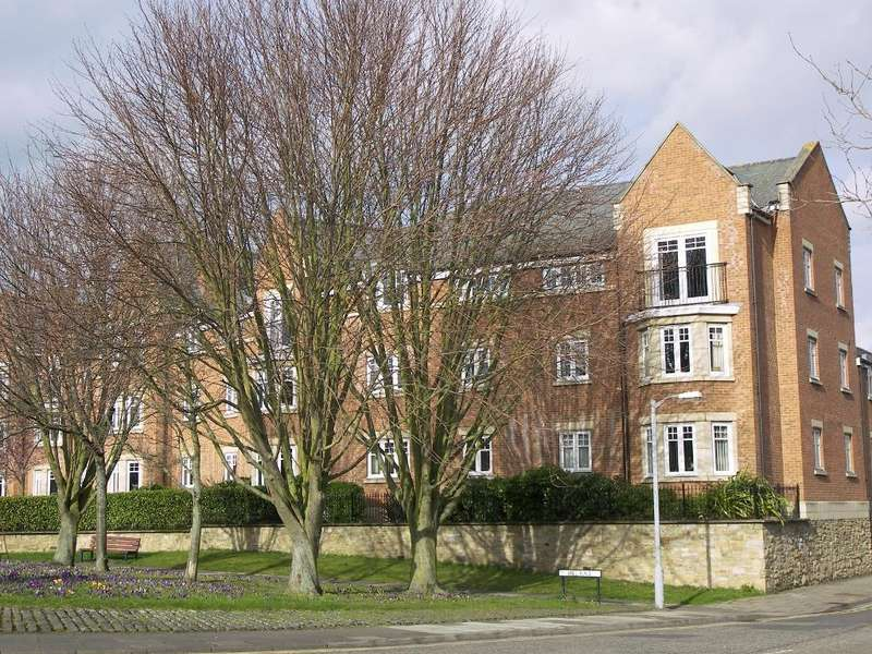 2 Bedrooms Apartment Flat for sale in Mill Race Court, Morpeth