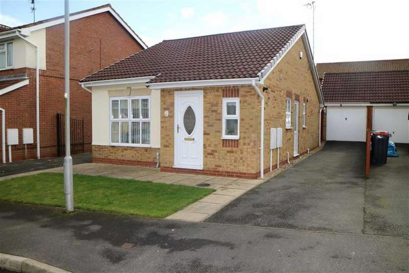 2 Bedrooms Detached Bungalow for sale in Meadow Farm View, Kirkby In Ashfield, Notts, NG17