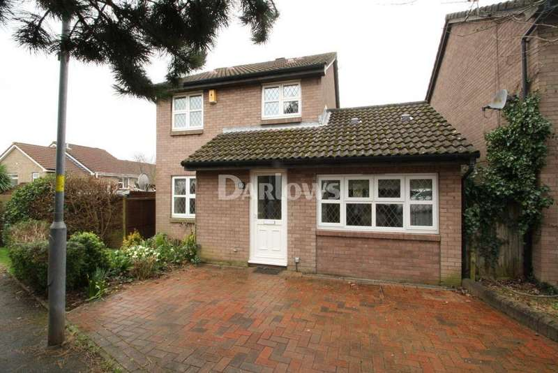 3 Bedrooms Detached House for sale in Drury Close, Thornhill, Cardiff