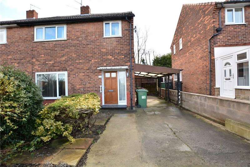 3 Bedrooms Semi Detached House for sale in Wellstone Avenue, Leeds, West Yorkshire