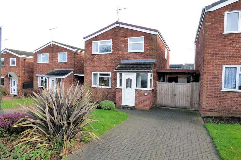 3 Bedrooms Detached House for sale in Orchard Close, Walton-on-Trent