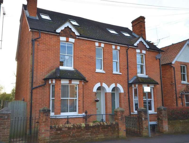 4 Bedrooms Semi Detached House for sale in St Georges Road, Farnham