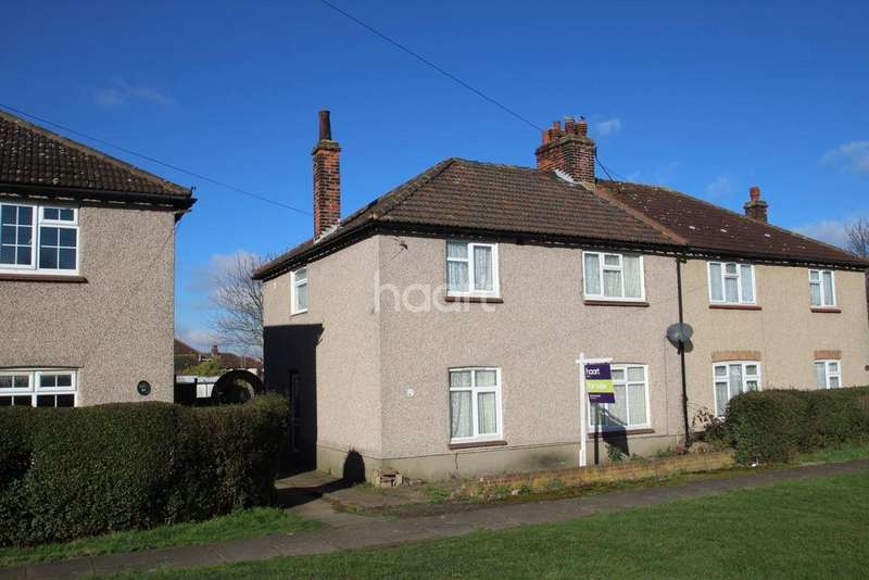 3 Bedrooms Semi Detached House for sale in Ruskin Road, Chadwell St Mary
