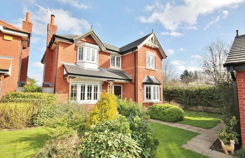 4 Bedrooms Detached House for sale in Kingsbury Drive, Wilmslow