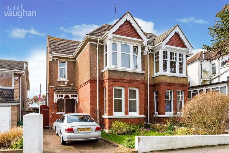 3 Bedrooms Semi Detached House for sale in Tower Road, Brighton, BN2