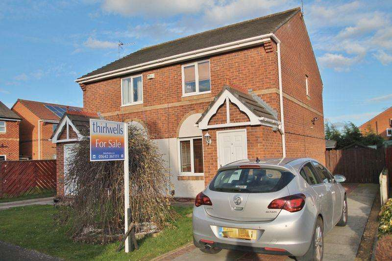 2 Bedrooms Semi Detached House for sale in Constable Grove, Billingham