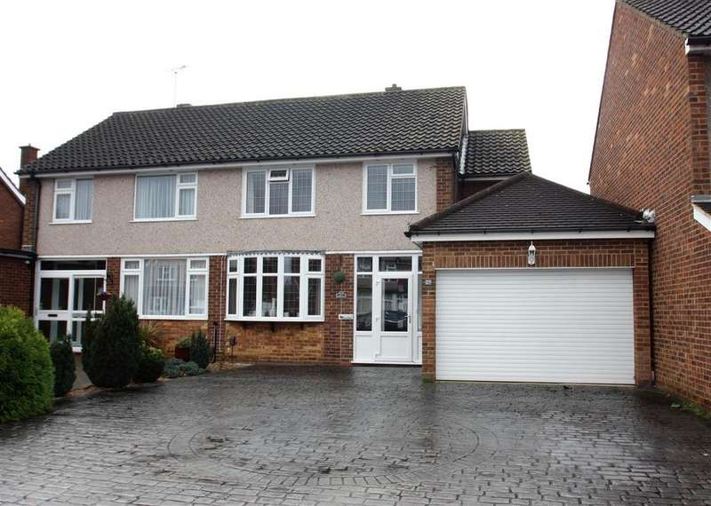 3 Bedrooms Semi Detached House for sale in Lynegrove Avenue, Ashford
