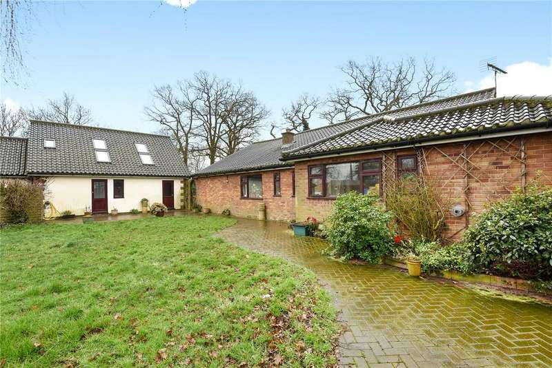 4 Bedrooms Detached Bungalow for sale in Station Road, Little Dunham, Swaffham, Norfolk, PE32