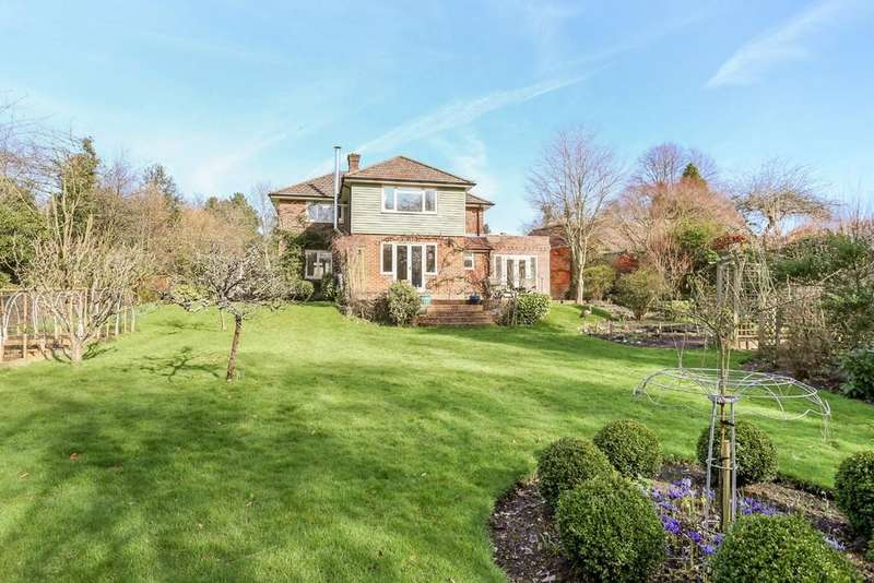 4 Bedrooms Detached House for sale in Steep, Hampshire