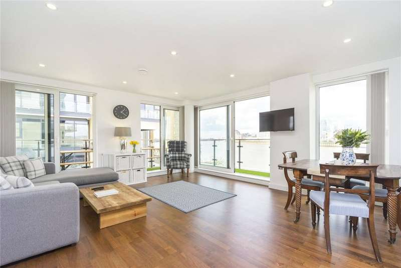 2 Bedrooms House for sale in Wharf Street, London, SE8