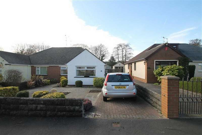 2 Bedrooms Semi Detached Bungalow for sale in Heol Nant Castan, Rhwbina, Cardiff