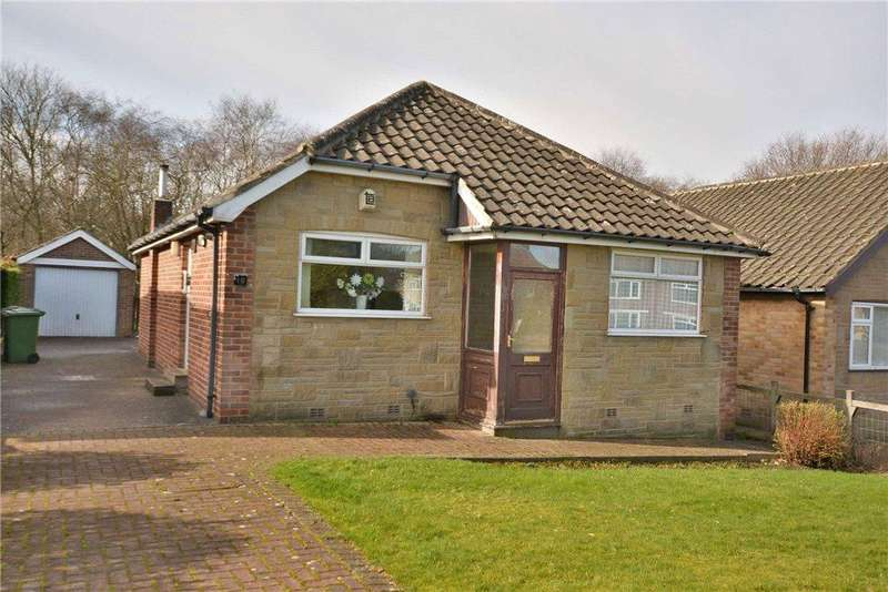 2 Bedrooms Detached Bungalow for sale in Buckstone Avenue, Alwoodley, Leeds