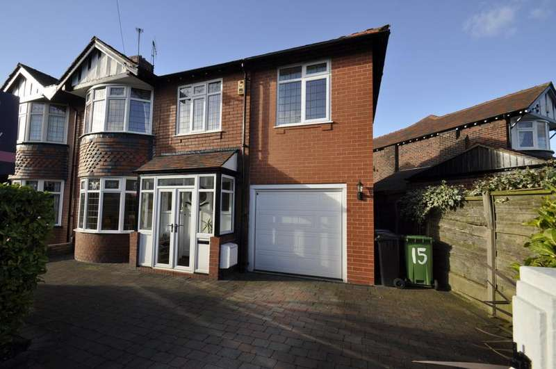 4 Bedrooms Semi Detached House for sale in Woodend Road, Davenport