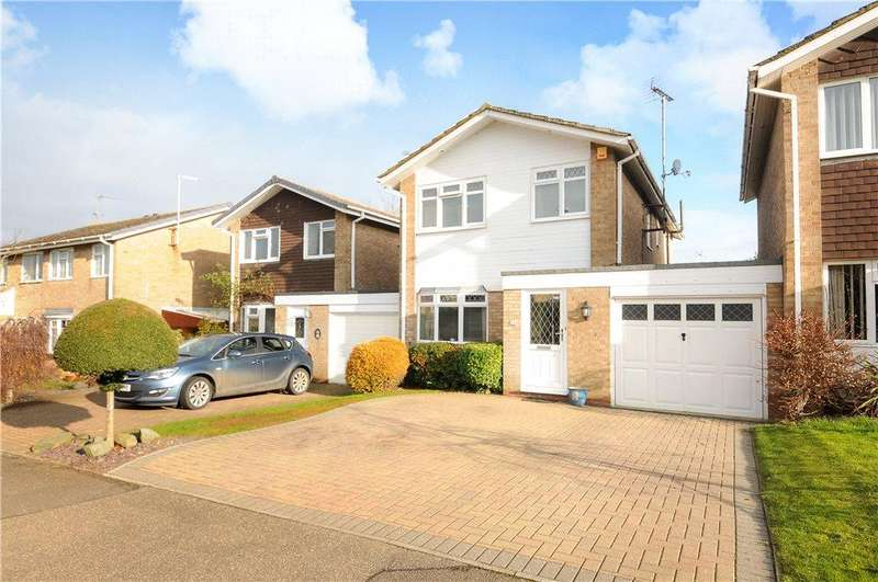 4 Bedrooms Link Detached House for sale in St. Lawrence Road South, Towcester, Northamptonshire