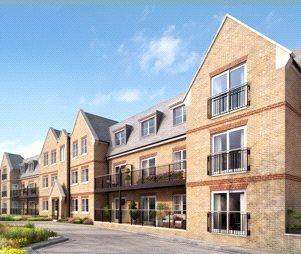 2 Bedrooms Flat for sale in Cedar House, Woodland Avenue, Ryewood, Dunton Green, TN14