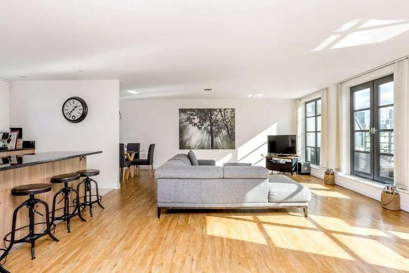 3 Bedrooms Penthouse Flat for sale in Zenith Bulding, 596 Commercial Road, Limehouse, London, E14