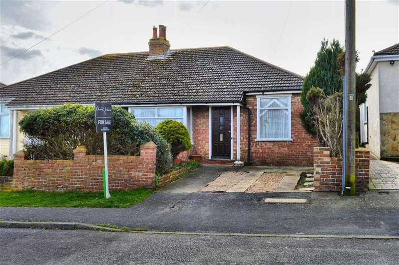 2 Bedrooms Semi Detached Bungalow for sale in Second Avenue, Newhaven, East Sussex