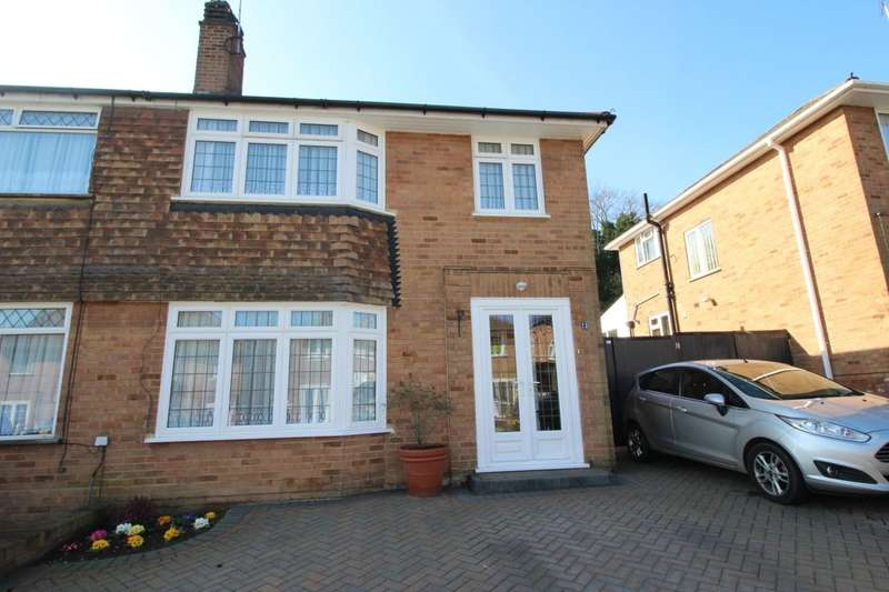 3 Bedrooms Semi Detached House for sale in Lower Croft, Swanley, BR8