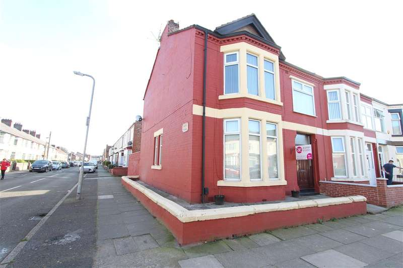 4 Bedrooms End Of Terrace House for sale in Corinthian Avenue, Stonycroft, Liverpool
