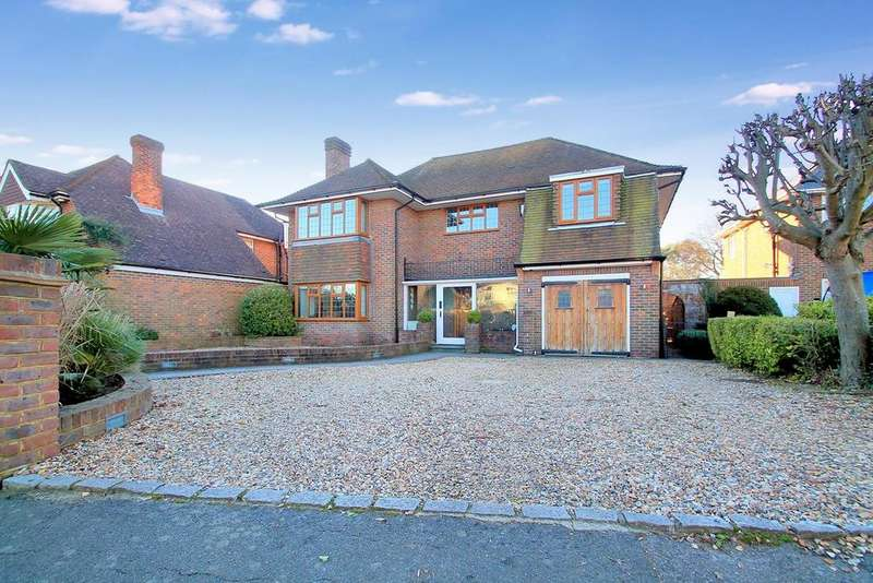 5 Bedrooms Detached House for sale in Upper Shoreham Road, Shoreham-By-Sea