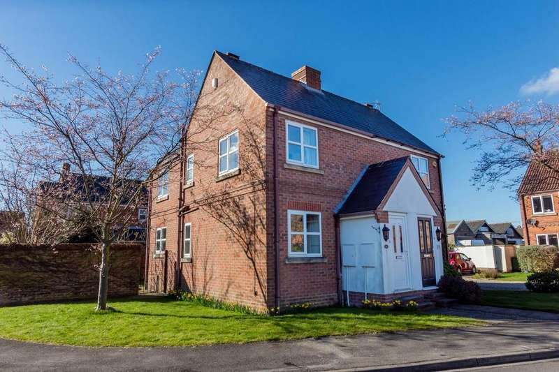 2 Bedrooms Semi Detached House for sale in White Horse Close, Huntington, YORK