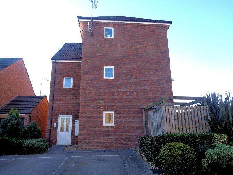 2 Bedrooms Flat for sale in Churchbell sound , Bridgend, Mid glamorgan .
