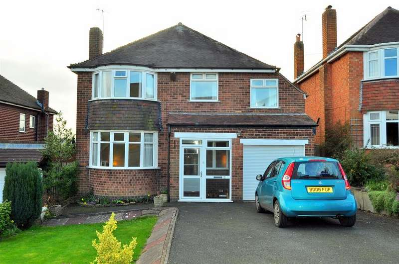 4 Bedrooms Detached House for sale in Longlands Road, Halesowen