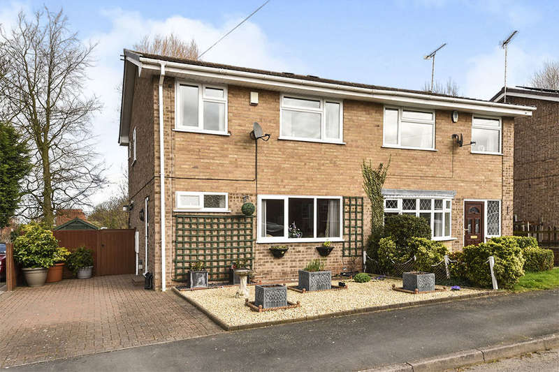 3 Bedrooms Semi Detached House for sale in Meadow Close, Repton, Derby, DE65