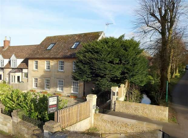 4 Bedrooms Detached House for sale in Bridge House, 351 The Street, Holt, Wiltshire