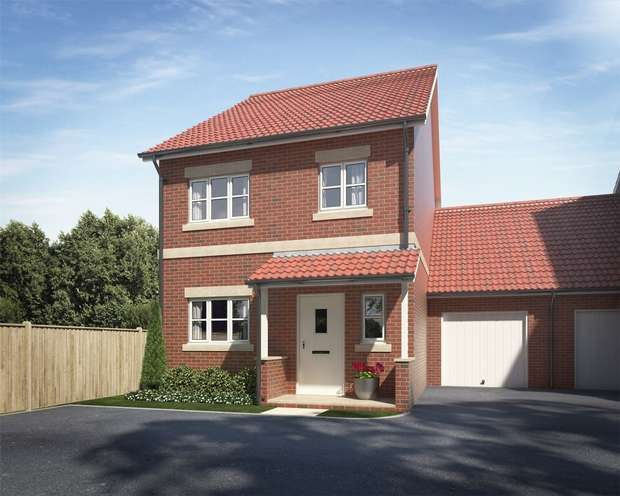 3 Bedrooms Semi Detached House for sale in Plot 17, Elmhurst Gardens, Trowbridge, Wiltshire