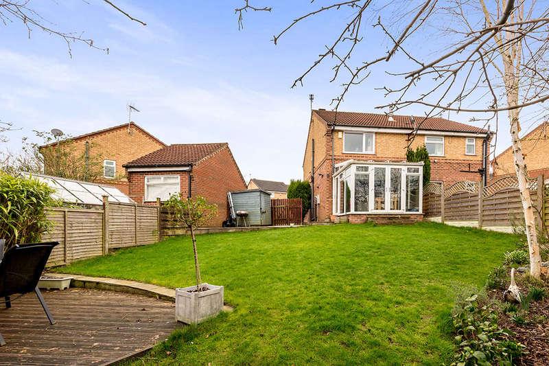 2 Bedrooms Semi Detached House for sale in Greenshank Mews, Morley, Leeds, LS27