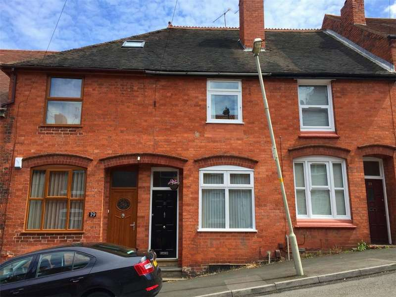 2 Bedrooms Terraced House for sale in Spring Street, HALESOWEN, West Midlands