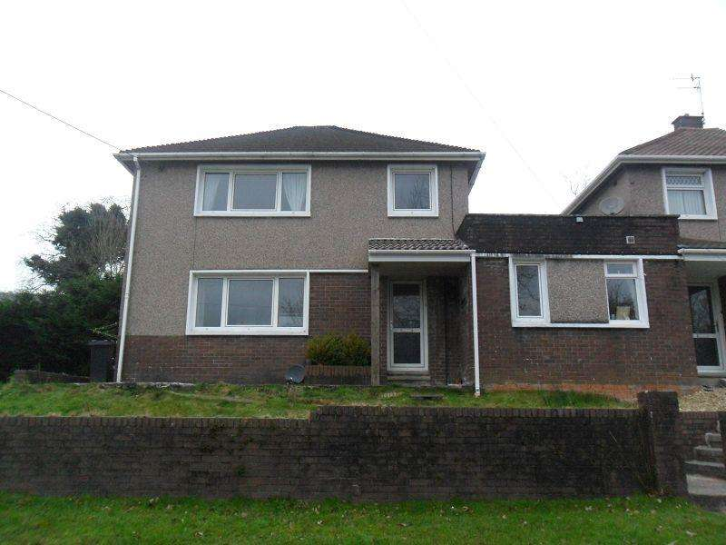 3 Bedrooms Link Detached House for sale in Cilmaengwyn Road, Pontardawe, Swansea.