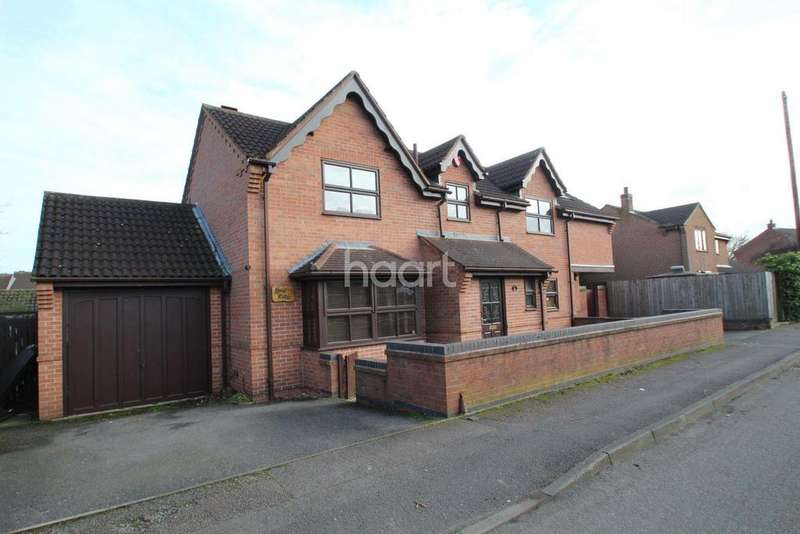 4 Bedrooms Detached House for sale in Coatsby Road, Kimberley