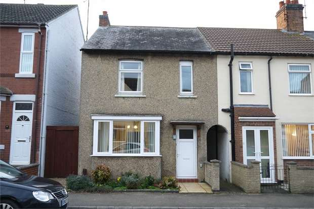 2 Bedrooms End Of Terrace House for sale in 31 Pioneer Avenue, Desborough, KETTERING, Northamptonshire