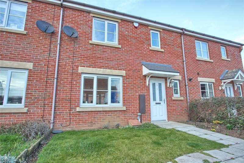 3 Bedrooms Terraced House for sale in Falmouth Close, Redcar