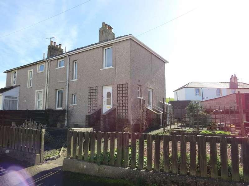 3 Bedrooms Semi Detached House for sale in Briscoe Crescent, Parton, Whitehaven, Cumbria
