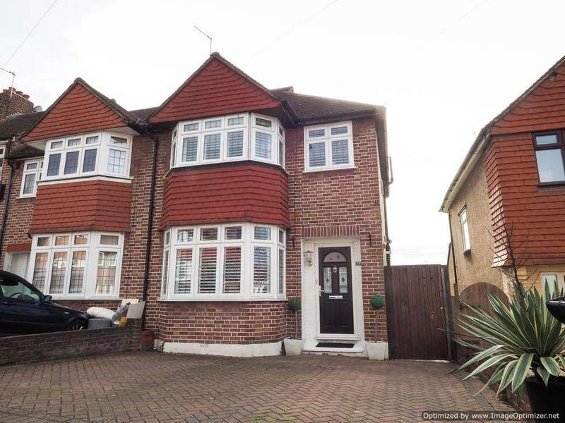 3 Bedrooms End Of Terrace House for sale in Kingsbridge Road, Morden SM4