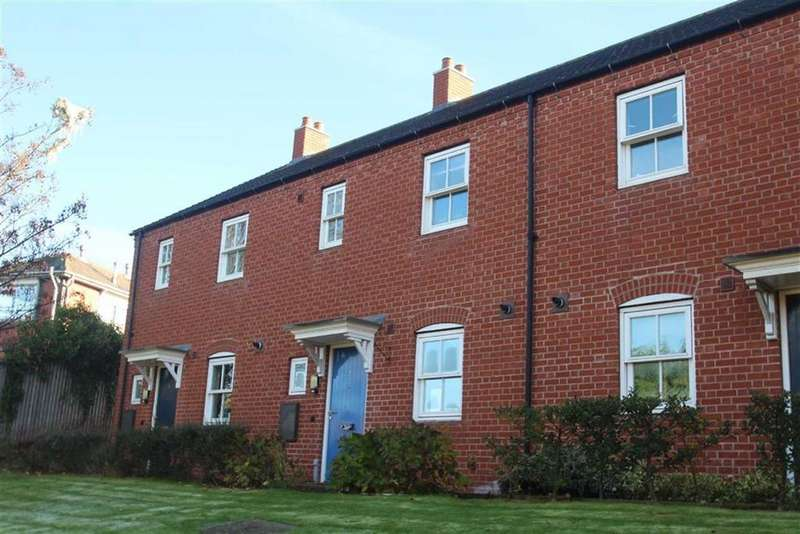 3 Bedrooms Terraced House for sale in Wilfred Owen Close, Off Underdale Road, Shrewsbury