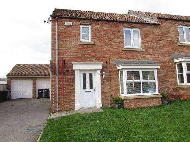 3 Bedrooms Semi Detached House for sale in ALNWICK DRIVE, SPENNYMOOR, SPENNYMOOR DISTRICT